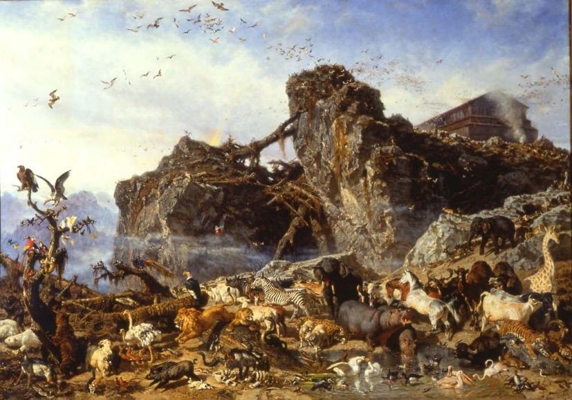 Dopo il diluvio – Mostra di Filippo Palizzi a Vasto