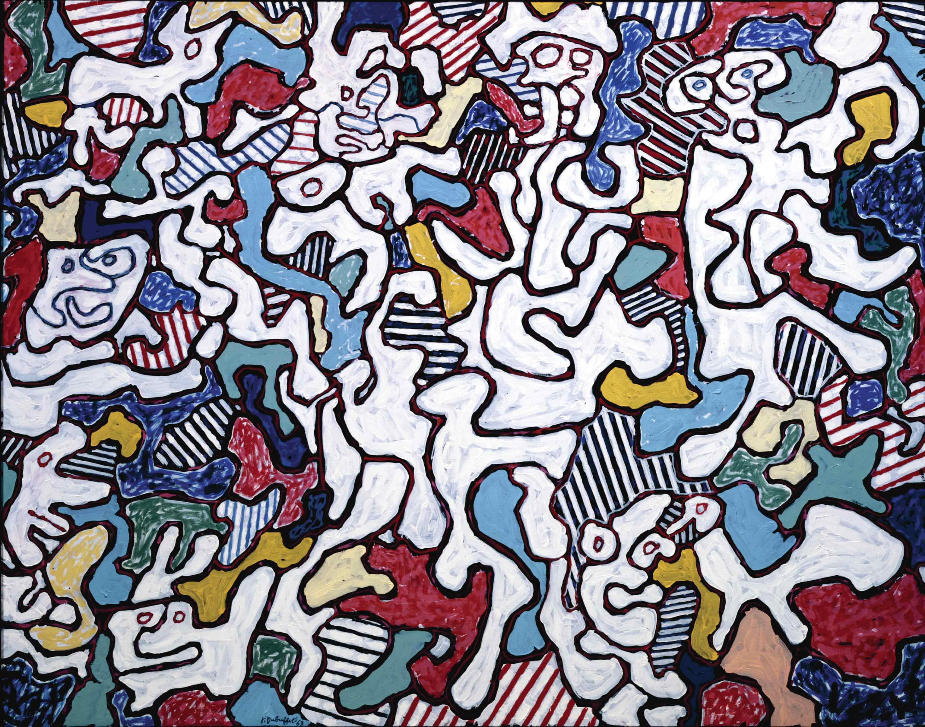 Jean Dubuffet, l'arte in gioco