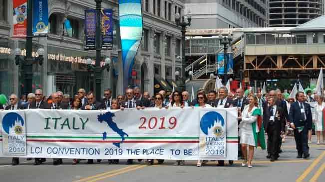 La convention Internazionale per la prima volta in Italia