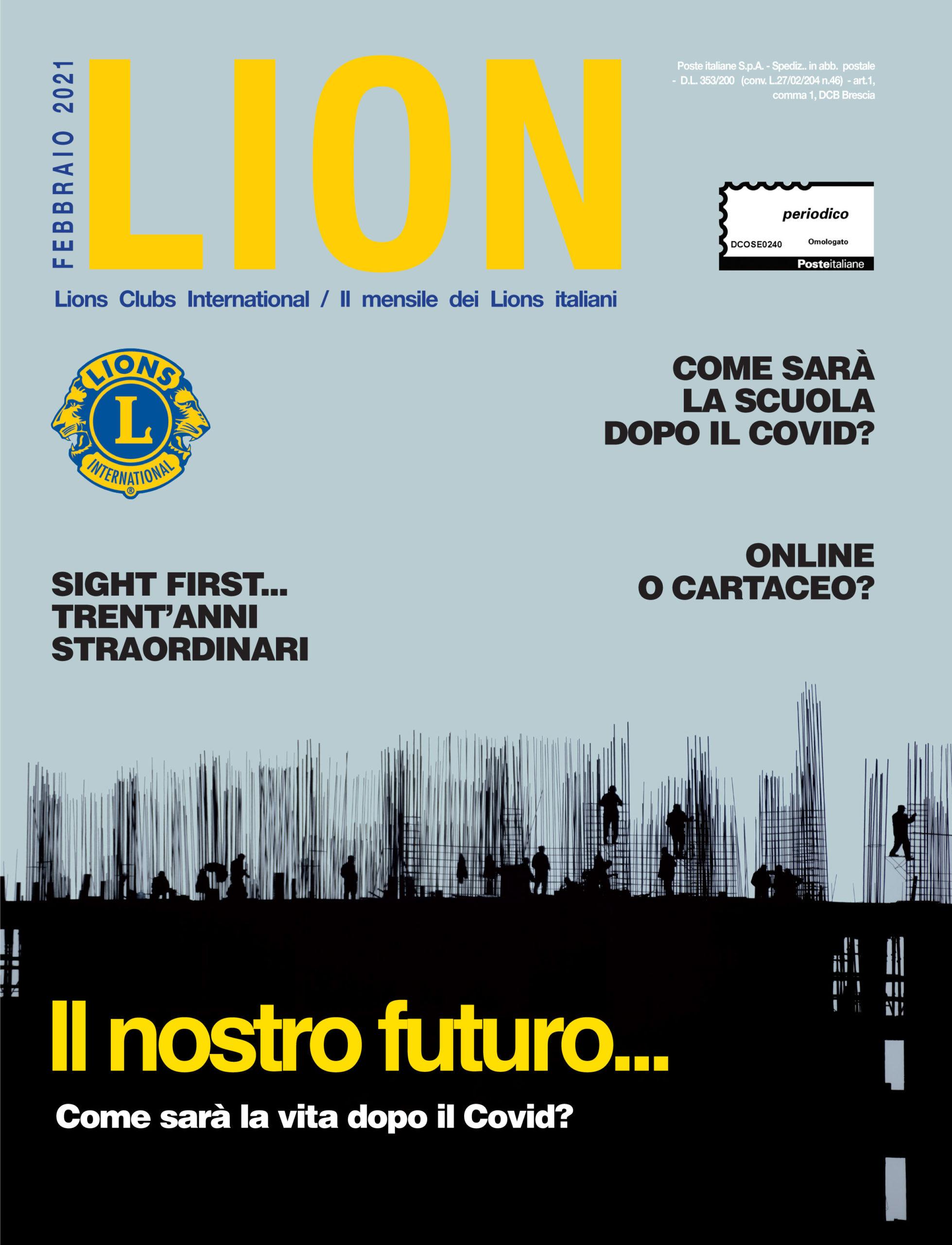 LION FEBBRAIO 2021