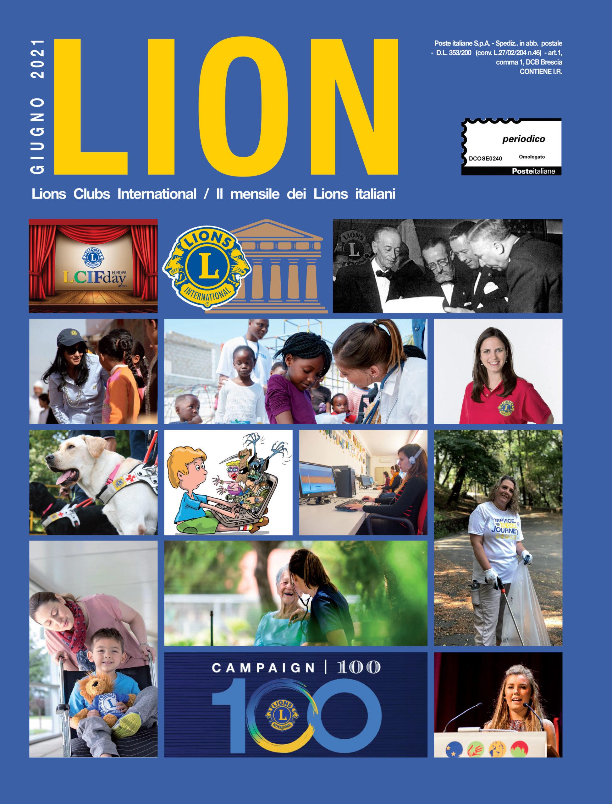 LION GIUGNO 2021