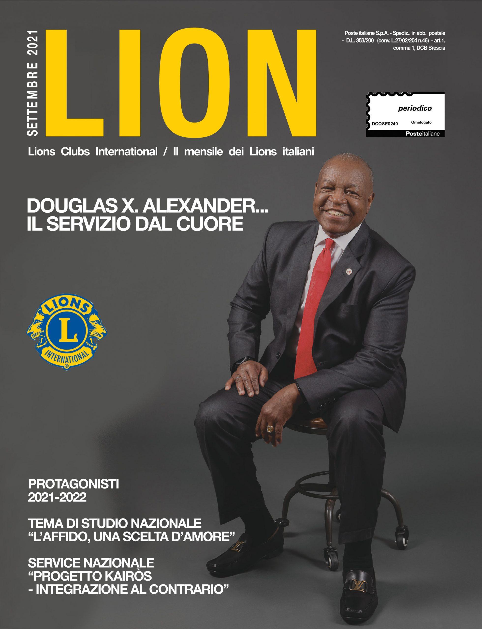 LION SETTEMBRE 2021