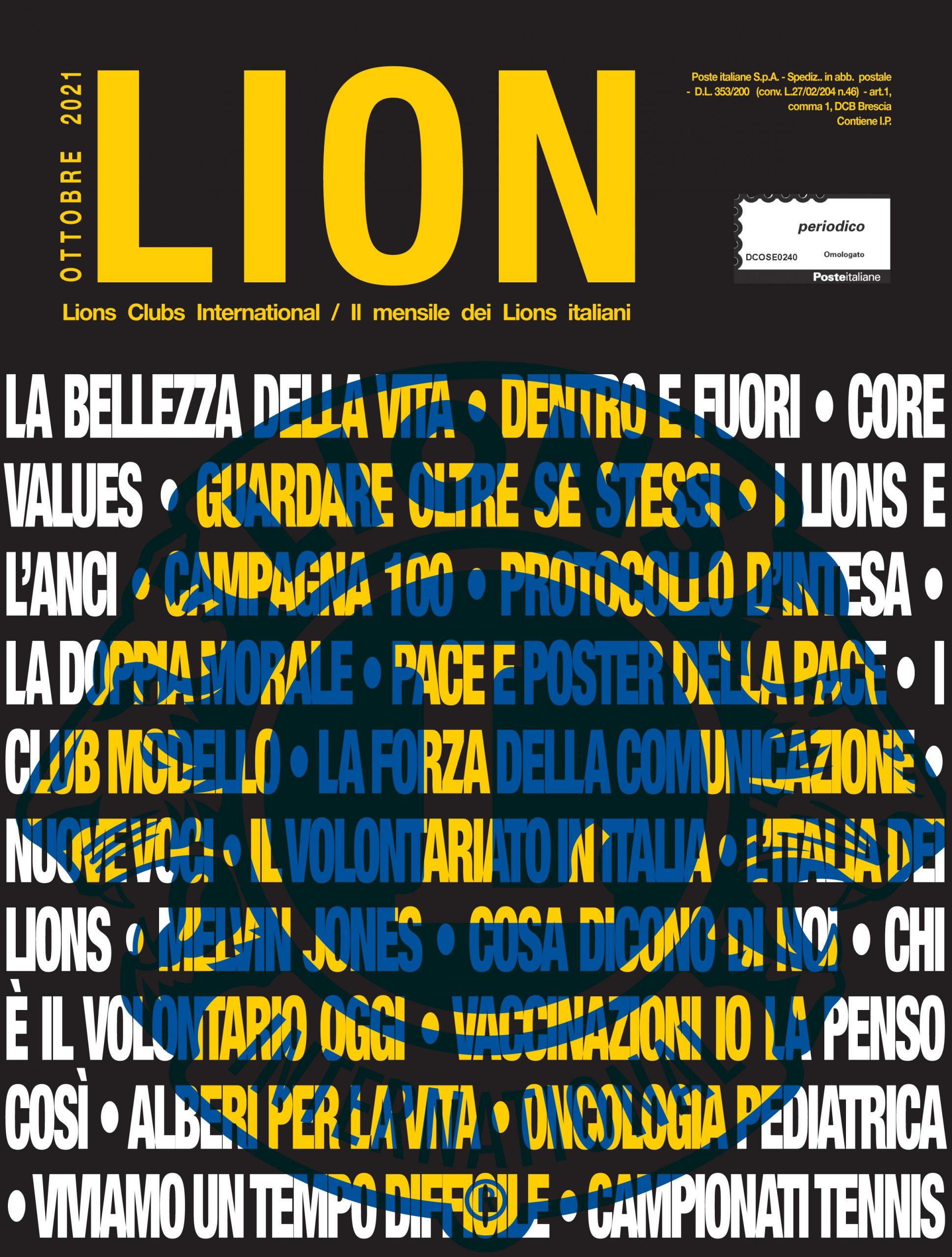 LION OTTOBRE 2021