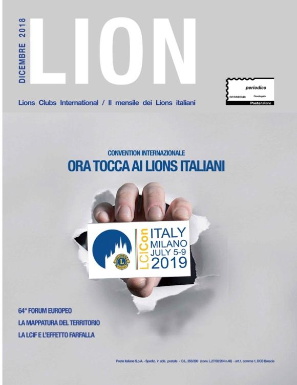 LION DICEMBRE 2019