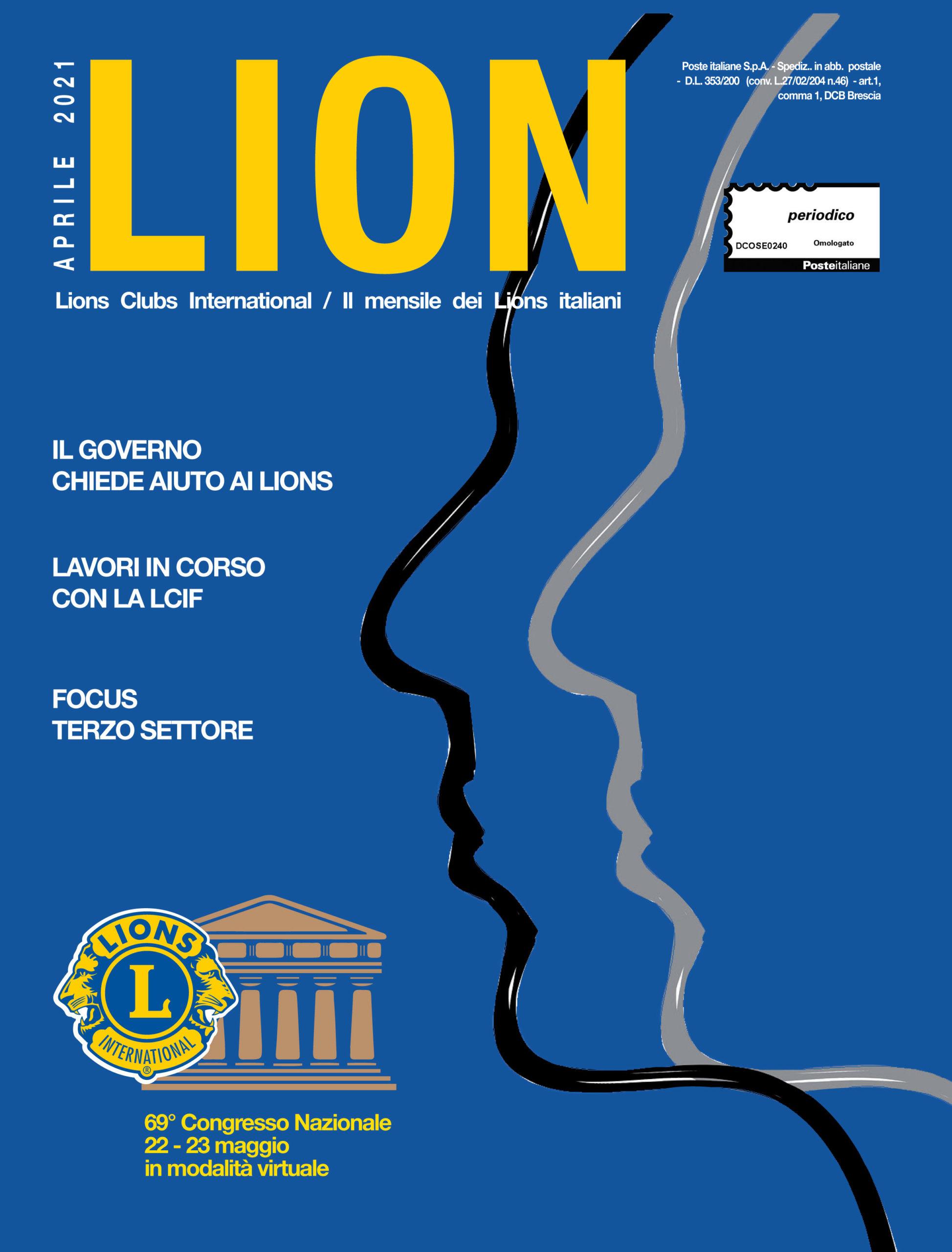 LION APRILE 2021